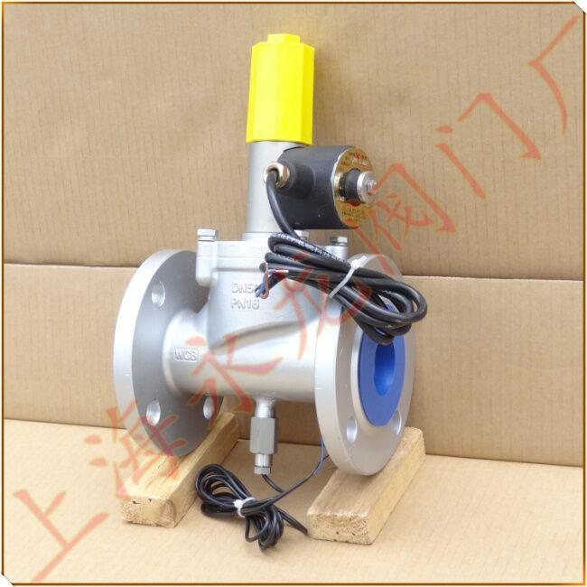 电磁式燃气紧急切断阀的主要有哪些应用场合(165)图片